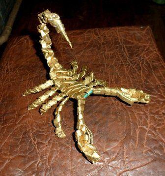 Paper scorpion DIY - very easy & cute!