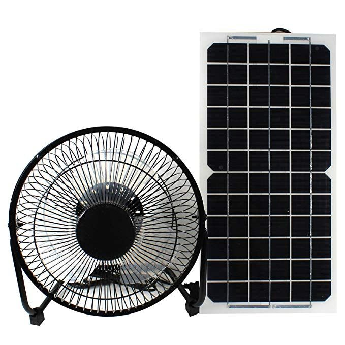 Goodsoz 10w 12v Solar Panel Powered Fan Ventilator For Rv Trailer Chicken House Dog House Roof Vent Multi Functional 12v Solar Panel Ventilation Fan Solar Fan