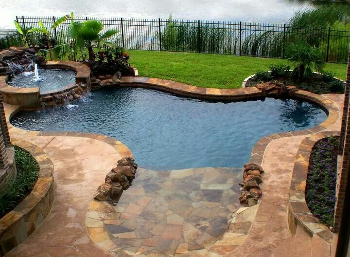 95 best beach entry pools images on pinterest arquitetura landscaping and natural swimming pools - Beach entry swimming pool designs ...