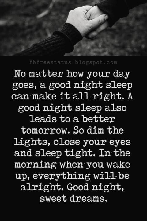 good night poems for her no matter how your day goes a good night sleep can make it all right a good night sleep also leads to a better tomorrow