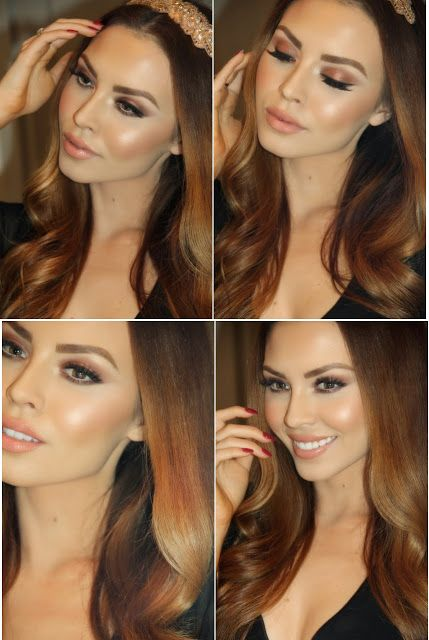 Cool In Coppers - Eyes and Brows | Face and Lips