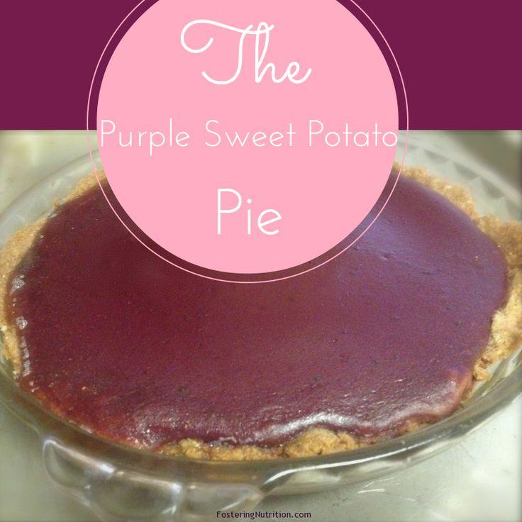 Sweet potato pies, Potato pie and Purple sweet potatoes on Pinterest