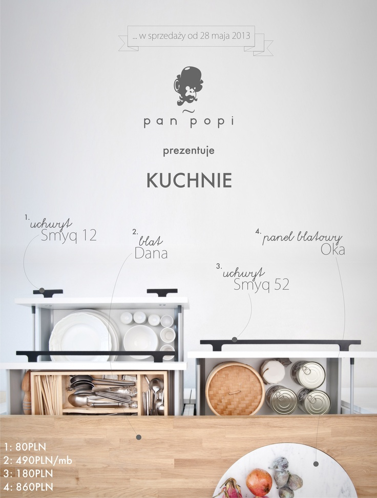 Kitchen addons for Pan Popi www.panpopi.pl