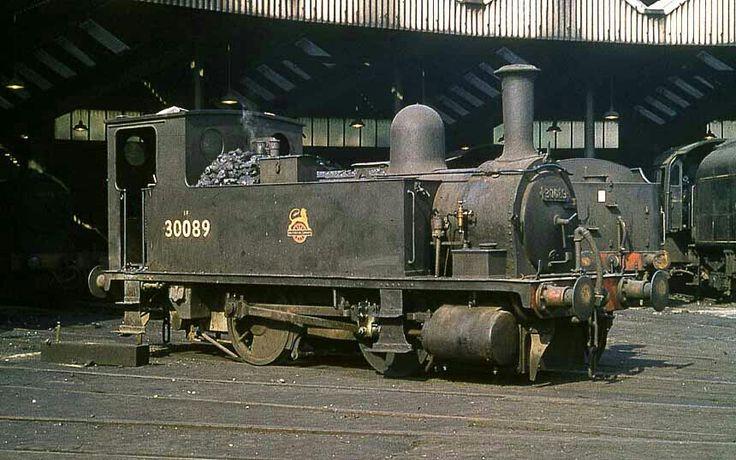 BR (Southern) (LSWR) Adams B4 class  0-4-0T