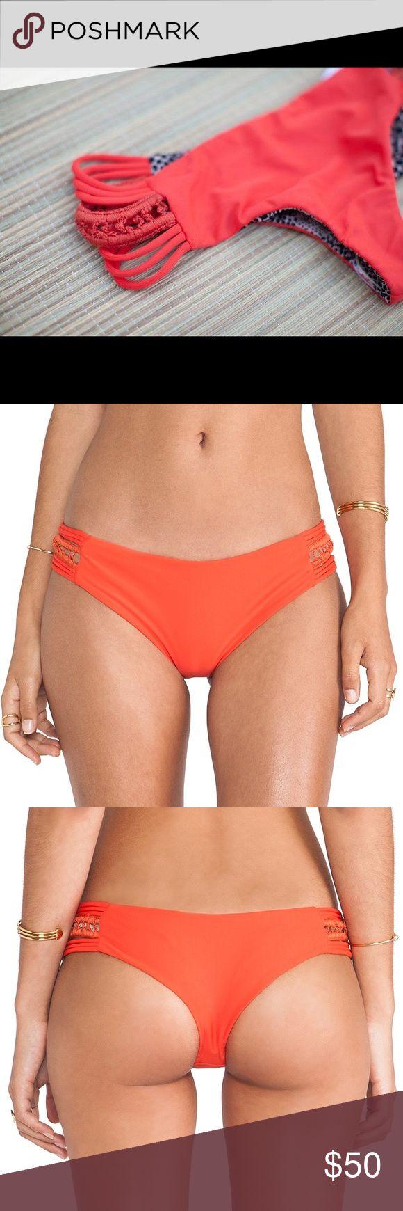 ACACIA PIKAKE BOTTOMS IN HIBISCUS ACACIA PIKAKE BOTTOMS IN HIBISCUS / XS-Petite / Lightly Used / PAY ON V E N M O @ amberthelyon acacia swimwear Swim Bikinis