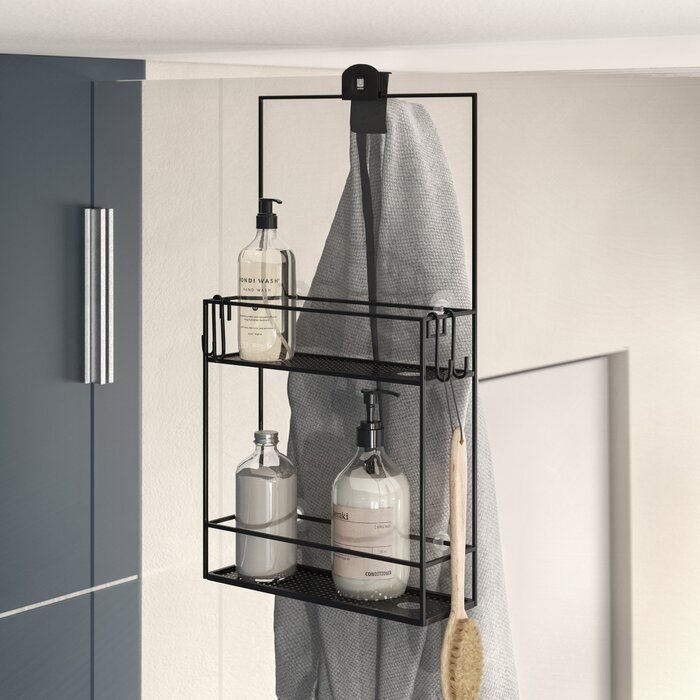 Cubiko Shower Caddy Small Bathroom Storage Bathroom Decor Luxury Simple Bathroom Decor