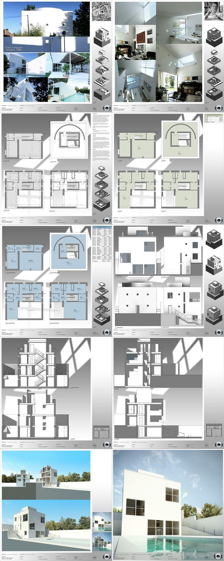 BIM (Building Information Modeling): Casa Turegano | Campo Baeza Segunda entrega del Curso Profesional de Arquitectura y Construcción con Autodesk Revit en CICE (Escuela Profesional de Nuevas Tecnologías), realizado por Cristóbal Manzanares. www.siem-yi.com/