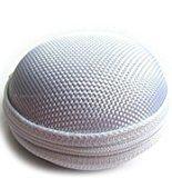 moorejieka Frauen kleine Tasche Wallet Leinwand BAG wird Hand in Hand mit einer Tasche von Münzen Tasche silber silber s