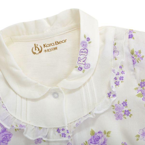 Ползунки, комбинезоны из Китая :: Кара несут девочек Одежда 2015 летние цветы baby baby цельный платье с короткими рукавами Ромпер код очистки.