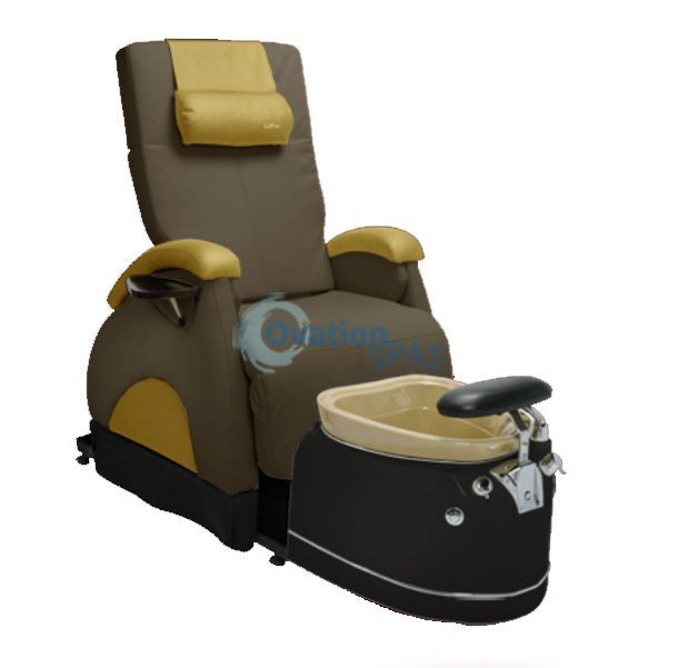 Ovation Back Zero® Gravity Pedicure Chair - Pedicure Chairs - Pipeless Spa Pedicure Chair