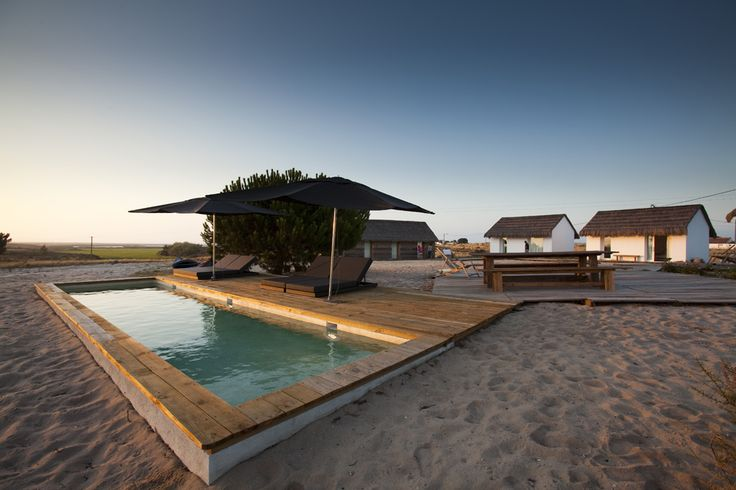 Let's escape to Casas Na Areia - a beautiful retreat designed by Manual Aires Mateus in Comporta, Portugal.