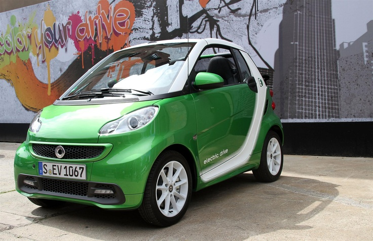 the new smart fortwo electric drive