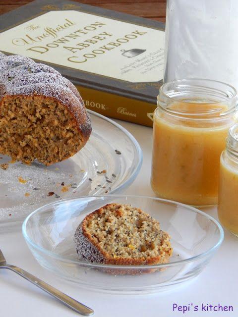 Lemon poppy seed cake with lime curd http://pepiskitcheninenglish.blogspot.gr/2013/04/lemon-poppy-seed-cake-with-lime-curd.html