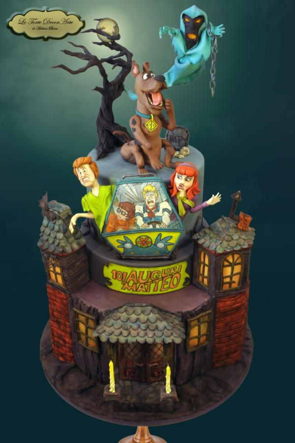 "Spooky Scooby by Adelina - ""Le Torte DecorArte"""