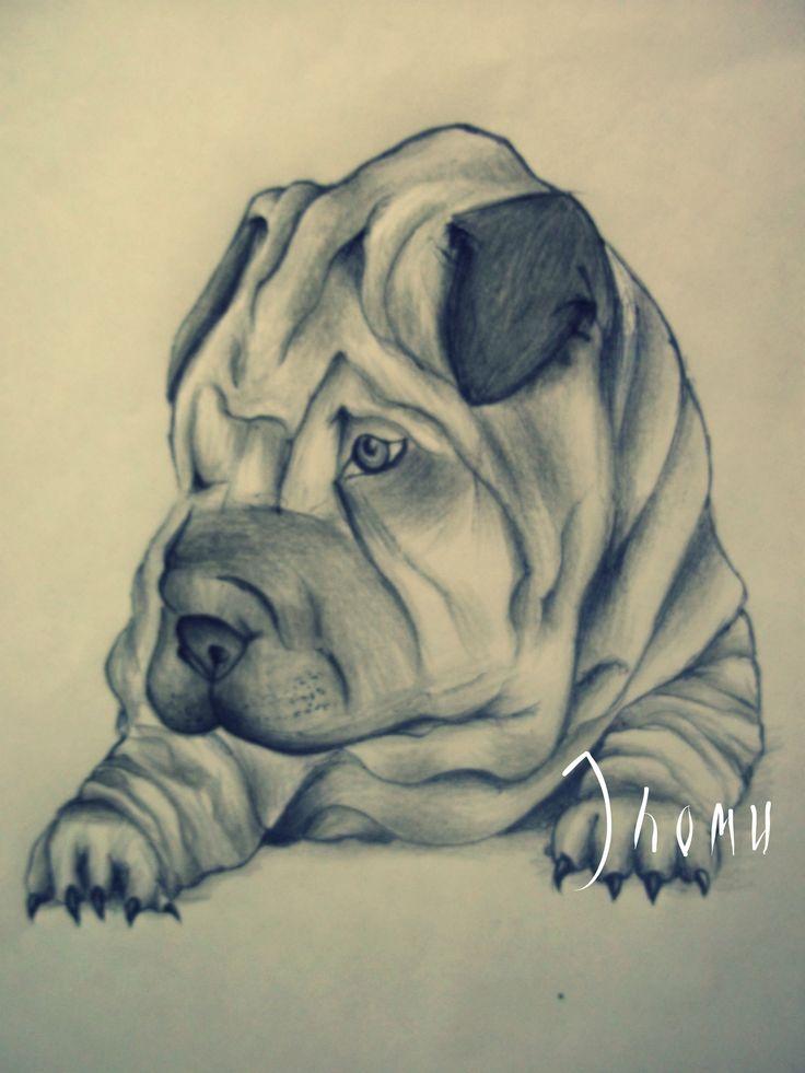 """""""Dog"""" Lápiz/Tinta 29*21cm"""