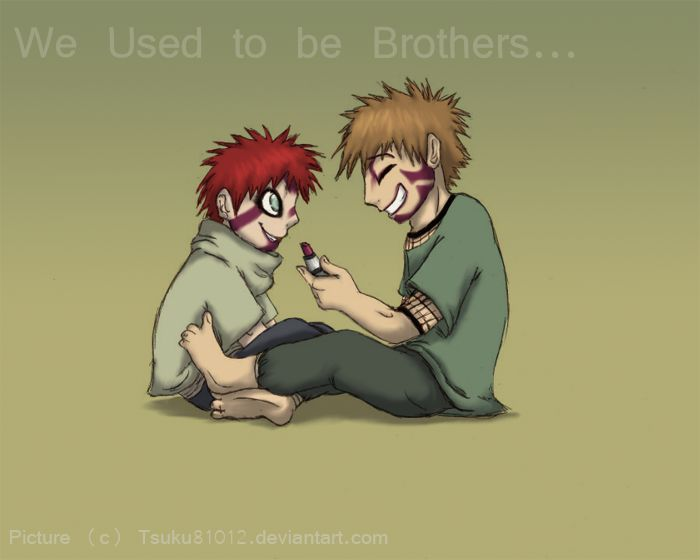 86 best images about Kankuro on Pinterest | Funny images ... Gaara And Kankuro Brothers
