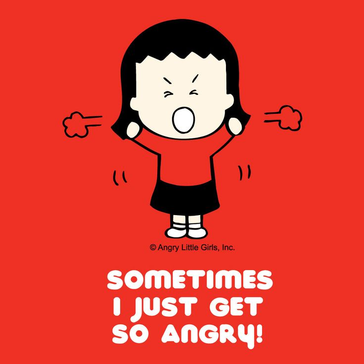 LITTLE ANGRY GIRLS, by Lela Lee... Self explanatory I think...lol