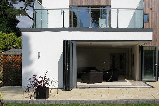 Aluminium folding sliding doors SFK70 sliding corner