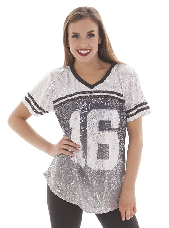Sparkle slouchy t shirt. Glam and laid back !