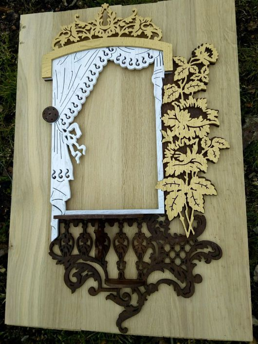 Фоторамки ручной работы. Ярмарка Мастеров - ручная работа. Купить Рамка для фото или зеркала. Handmade. Рамка, для декора, цветы