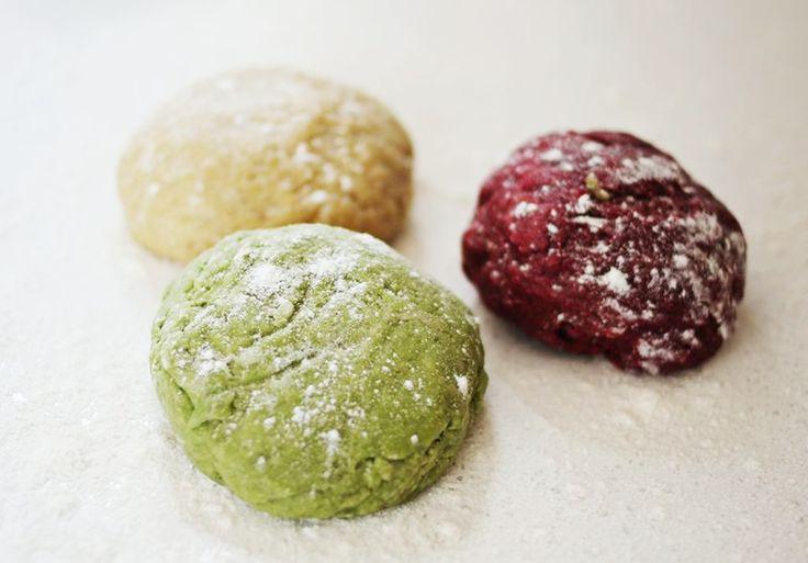 Massa de Macarrão Coloridada Caseira / Pasta Colorida   Sou Gourmet