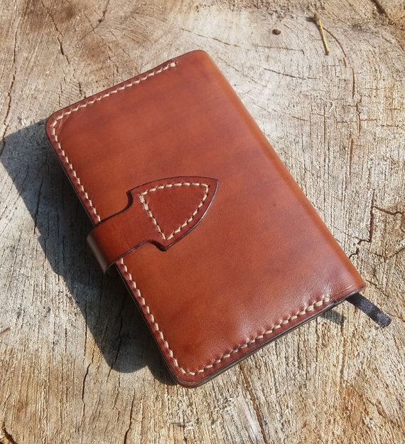 Leather notebook cover Moleskine cover Diary by DesignedByCris