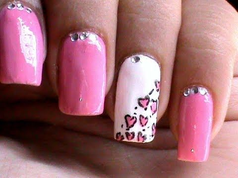 937 best video tutorials learn to create nail art images on heart leopard nail art tutorial easy nail designs for beginners cute nail polish ideas diy at home by brittney prinsesfo Choice Image