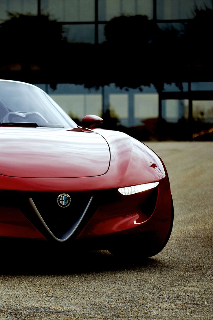 Nothing compares to the strange beauty of an alfa.