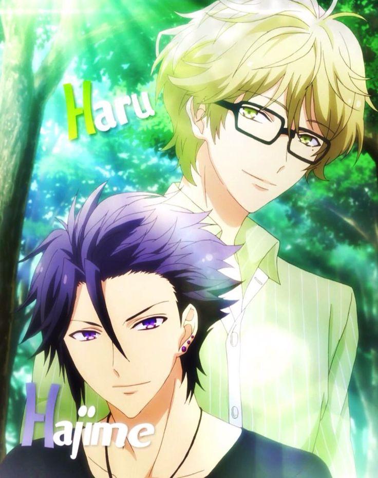 ツキウタ - Tsukiuta Hiji-king and Haru-san so cute ~ ////