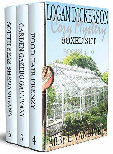 Logan Dickerson Cozy Mystery Boxed Set Books 4