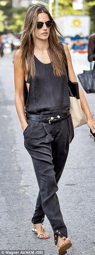 Alessandra - edgy street style