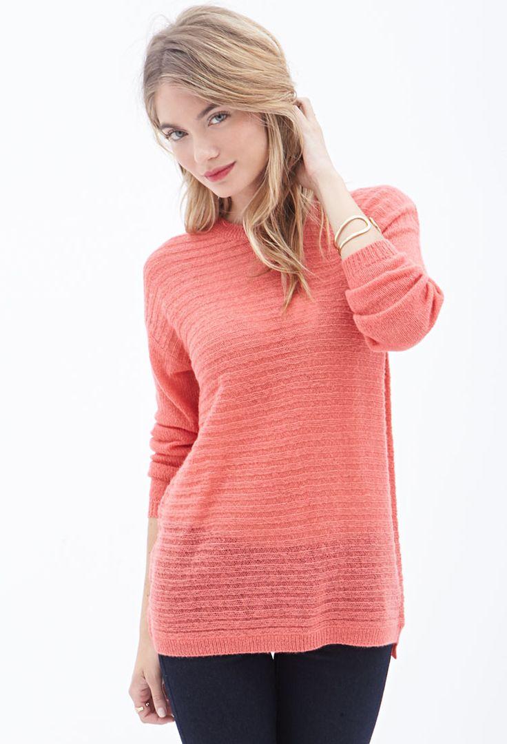 Pullover mit rippmuster 16 45