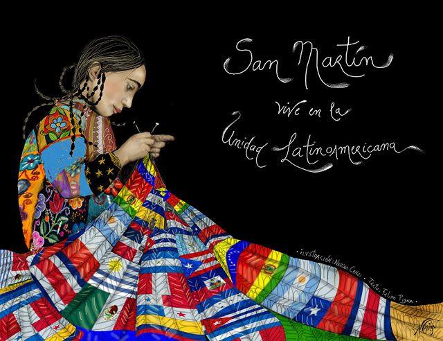 Nerina Canzi Ilustraciones: 17 DE AGOSTO - Aniversario de la muerte del Genera...