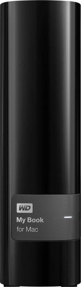 WD - My Book 6TB External USB 3.0 Hard Drive - Black - Front Zoom