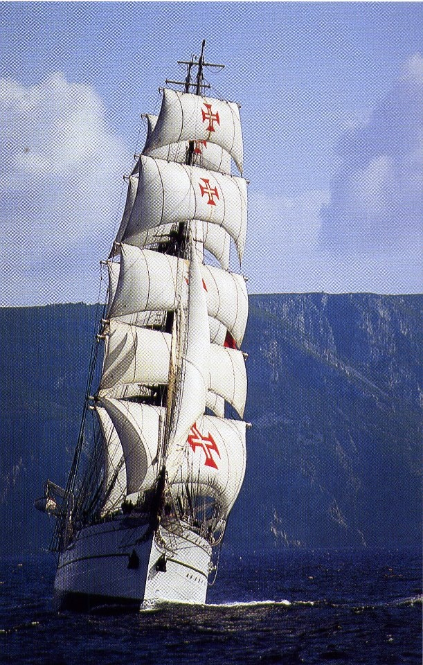 The NRP Sagres is a tall ship and school ship of the Portuguese Navy since 1961. It is the third ship with this name in the Portuguese Navy, so she is also known as Sagres III. - Navio Escola Sagres