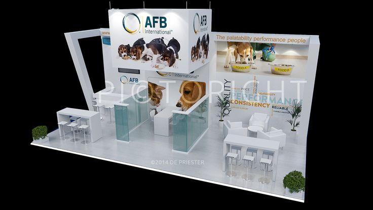 International exhibition design, stand ontwerp voor internationale beurzen wereldwijd.De Priester stand ontwerp en realisatie