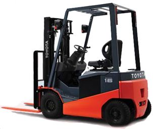 Toyota Electric forklift manufacturers in India offers wide range of 3-wheel and 4-wheel electric counterbalanced forklifts with capacities of 24, 48 and 80 volts.