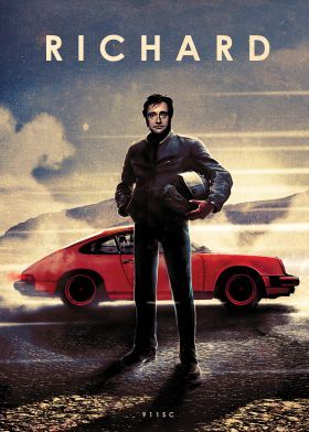 steel poster Movies & TV richard hammond hamster top gear 911sc porsche
