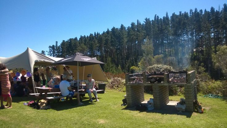 BBQ at Adventure Land, Plettenberg Bay