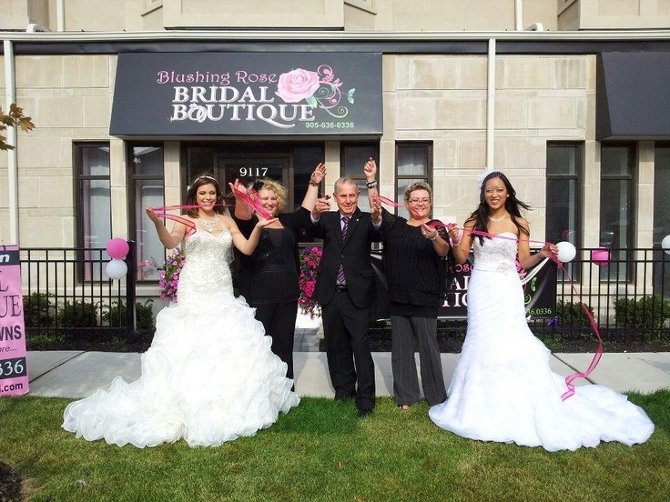 Help us Congratulate Blushing Rose Bridal Boutique for their recent Grand Opening in Milton, Ontario – Check them out for your next Bridal dress! Ask For Ola & Team    Visit their website to learn about their services: www.blushingrosebridal.com
