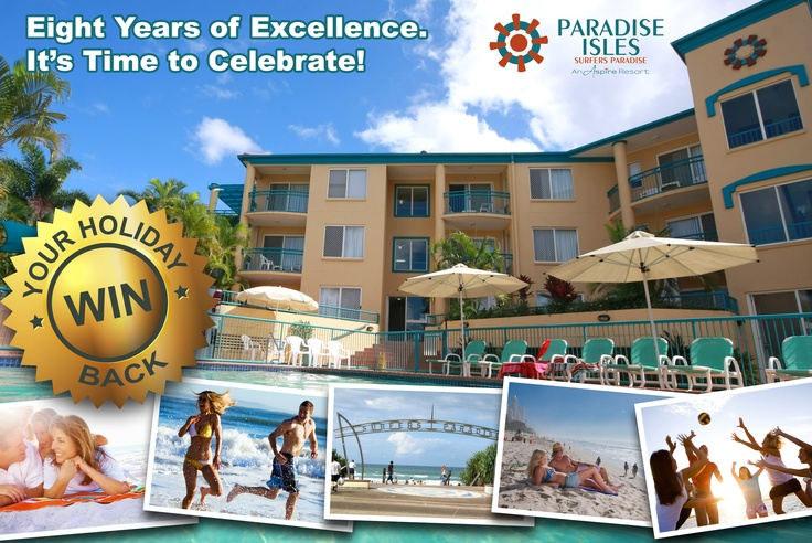 #WIN Back Your #AustraliaHoliday #Accommodation at Aspire Paradise Isles in #GoldCoast #Australia. Only 3 weeks left to enter! Entry closes 1 June 2013.
