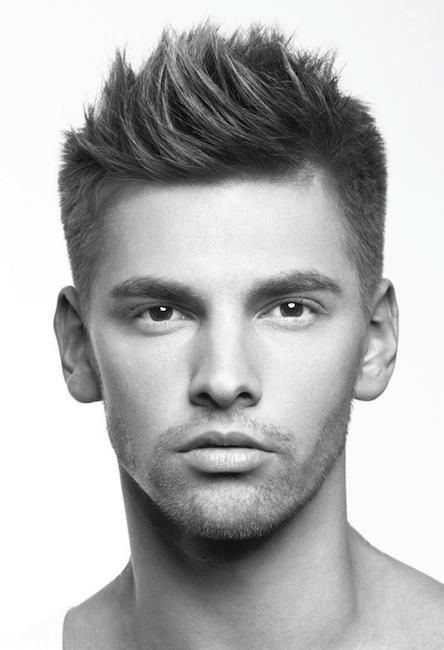 Men's Haircut @Erika McCann Patel ~ show this to Evan. What do you think?