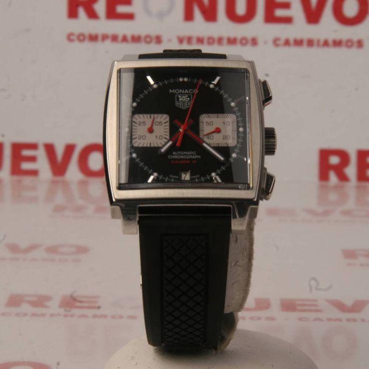 Reloj TAG HEUER MONACO CALIBRE 12 CAW2114 de segunda mano E278033 | Tienda online de segunda mano en Barcelona Re-Nuevo