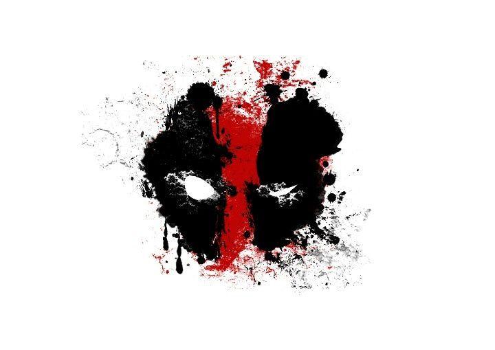 Image result for deadpool splatter tattoo