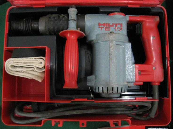 hilti te 17 hammer drill power hand tools pinterest hammer drill hilti hammer drill. Black Bedroom Furniture Sets. Home Design Ideas