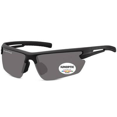 """Γυαλιά Ηλίου Biker Sunoptic Polarized """"Riding"""" SP305-BLACK-e-chap"""