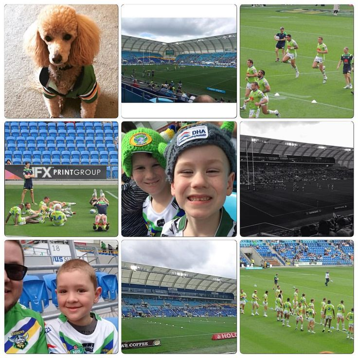 2015 Round 24 #FromAllAngles and #WearGreen Canberra Raiders V Gold Coast Titans
