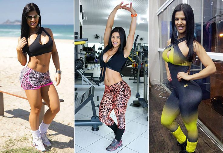 Musa fitness Eva Andressa ensina a arrasar nos looks de academia - Fotos - R7 Moda e Beleza