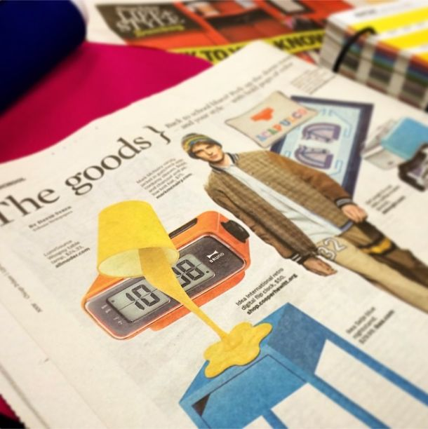 LumiSource Woopsy Table Lamp Showcased In Chicago Tribune