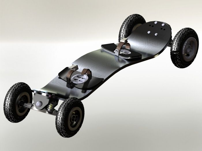 Solidworks - Mountain Board by Ryan Hill at Coroflot.com